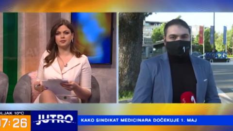 Prva Crna Gora – Jutro – Kako sindikat medicinara dočekuje 1. maj