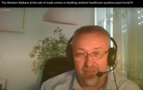 Govor dr Miodraga Femića iz Strukovnog sindikata doktora medicine Republike Srpske